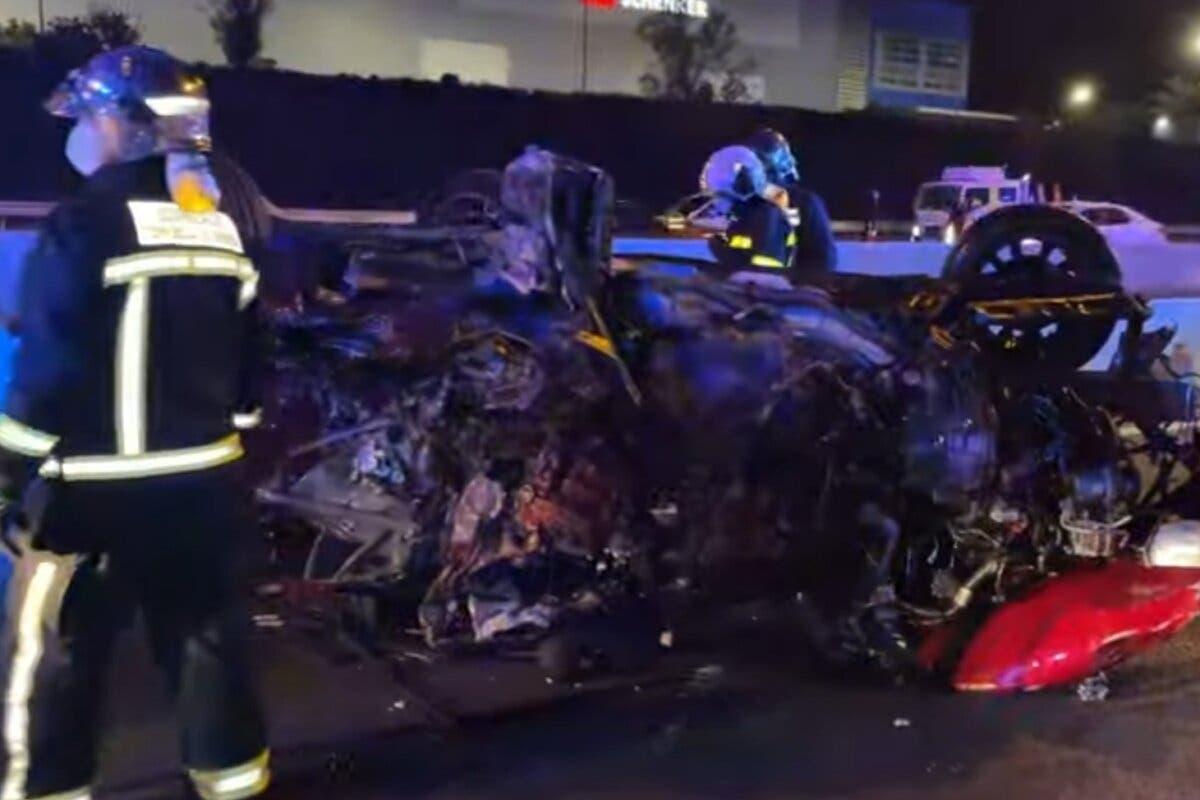 El kamikaze causante del accidente mortal en Alcalá de Henares se equivocó de vía