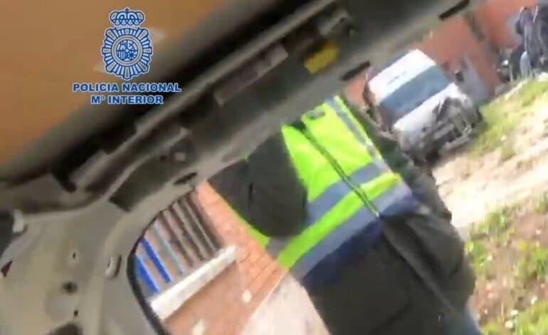 Desarticulada en Torrejón de Ardoz una banda que robaba coches para estafar a aseguradoras