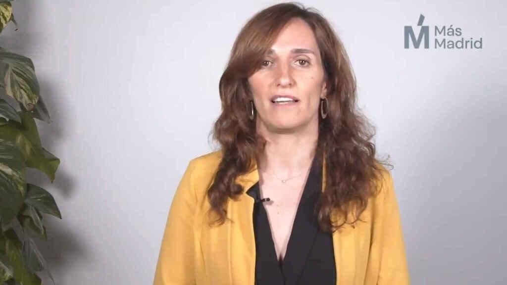 Mónica García (Más Madrid) rechaza la oferta de Iglesias: «Las mujeres estamos cansadas de hacer el trabajo sucio»