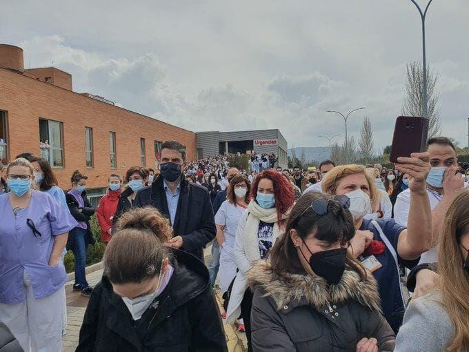 Alcalá de Henares despide a Sergio, el enfermero asesinado en el hospital