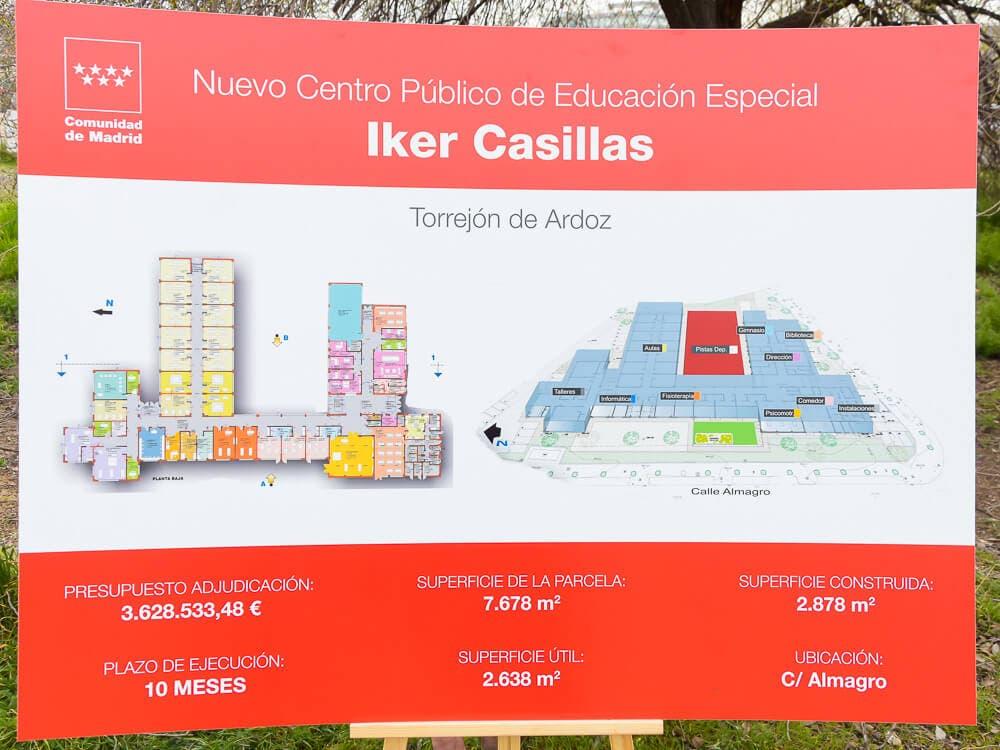 El nuevo colegio de Educación Especial de Torrejón de Ardoz acogerá a 100 alumnos