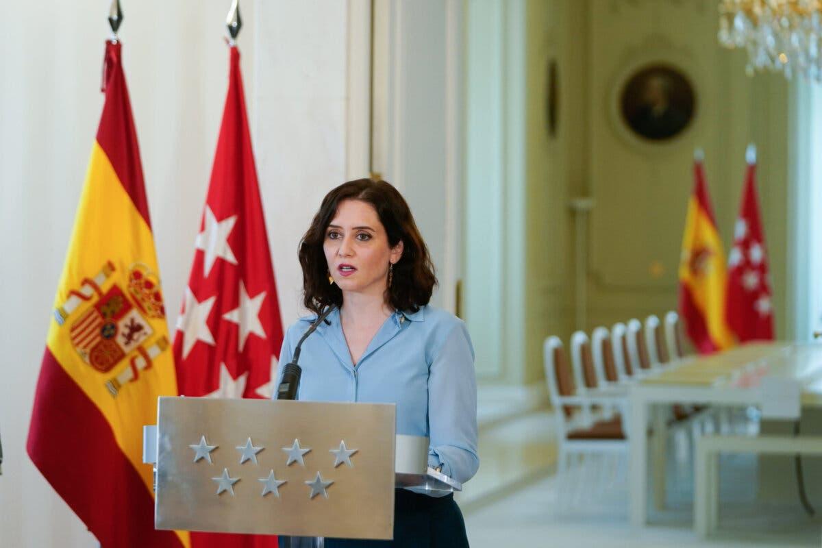 Ayuso convoca elecciones anticipadas en Madrid el 4 de mayo