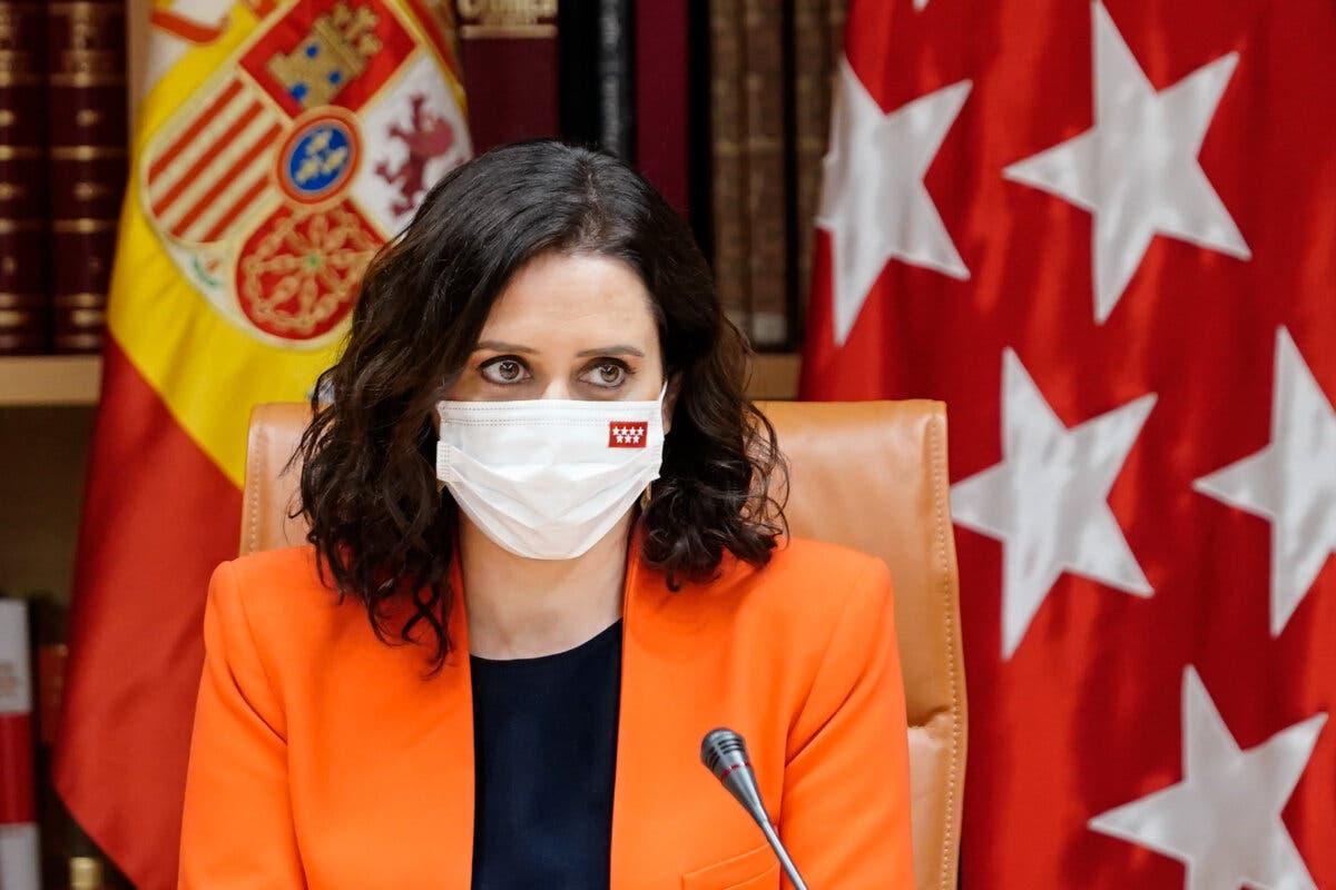 Ayuso: «España me debe una, hemos sacado a Pablo Iglesias de la Moncloa»