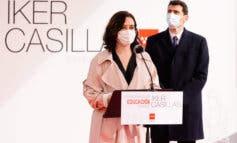 Casillas y Ayuso presentan el nuevo colegio de Educación Especial de Torrejón de Ardoz