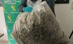 Detenida en Guadalajara una conductora madrileña tras saltarse el cierre perimetral y llevar un bolsón de marihuana