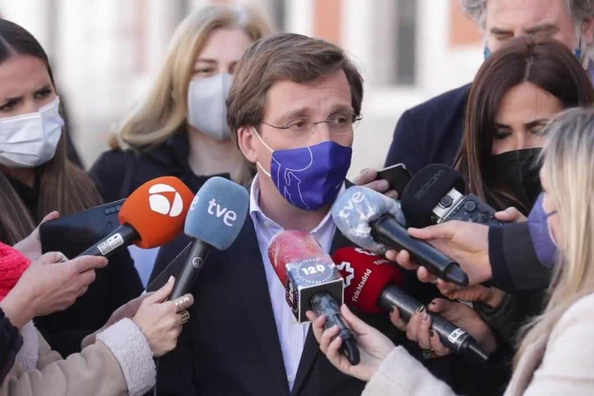 Almeida ve a Podemos «en trance de desaparición»: «Iglesias, candidato al Ayuntamiento de Galapagar»
