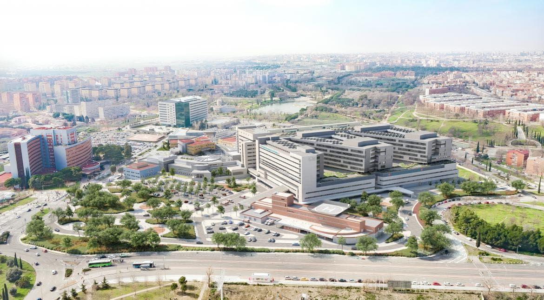 740 habitaciones y 40 quirófanos: así será el nuevo edificio del 12 de Octubre