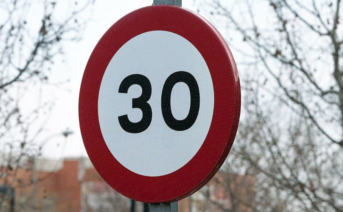 Entran hoy en vigor los nuevos límites de velocidad en vías urbanas