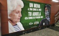 La Fiscalía pide la retirada inmediata del cartel de Vox sobre menas en Madrid
