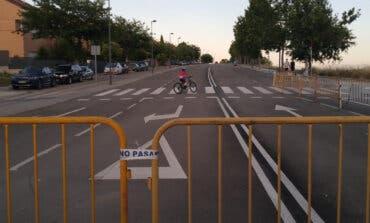Paracuellos convierte en peatonal la Avenida de la Circunvalación por el cierre perimetral