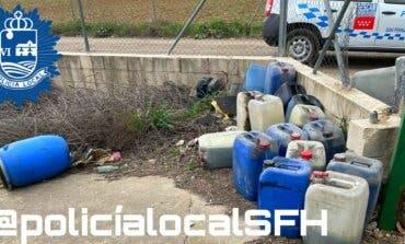 Denuncian a una empresa de Torrejón por verter residuos peligrosos en San Fernando