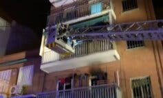 Siete intoxicados, entre ellos dos niños, en el incendio de una vivienda en Villaverde