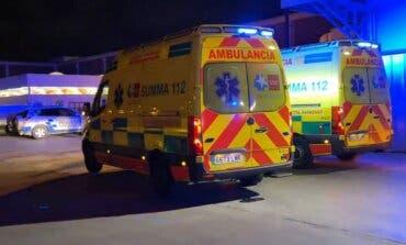 Dos heridos graves en un accidente laboral ocurrido esta madrugada en un centro comercial de Fuenlabrada