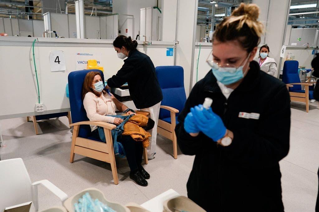 Mañana arranca la vacunación en el WiZink Center por donde pasarán más de 4.000 personas diarias