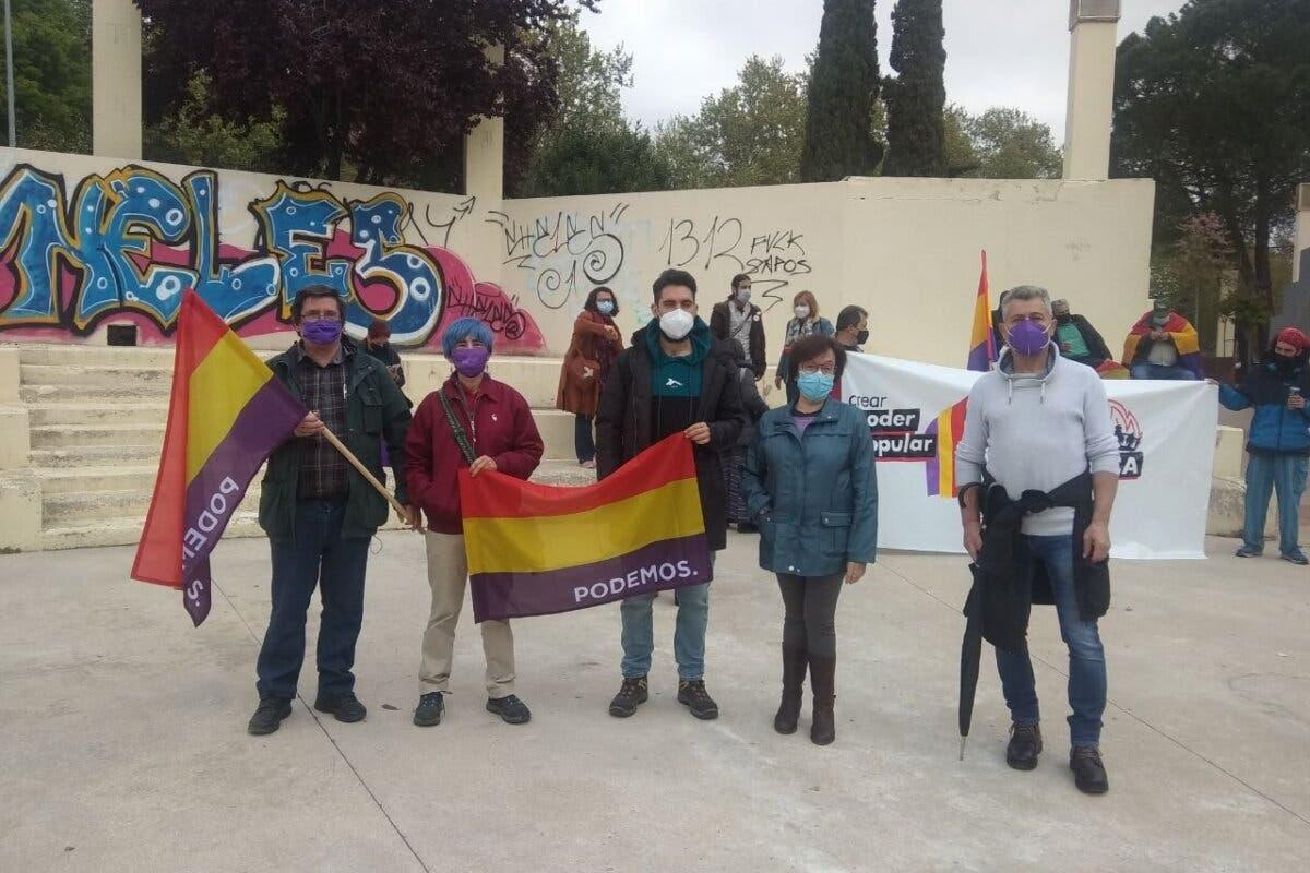 Podemos participa en un acto en Alcalá de Henares por la «Tercera República»
