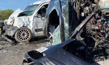 Tres heridos en un violento choque entre dos vehículos en Loeches