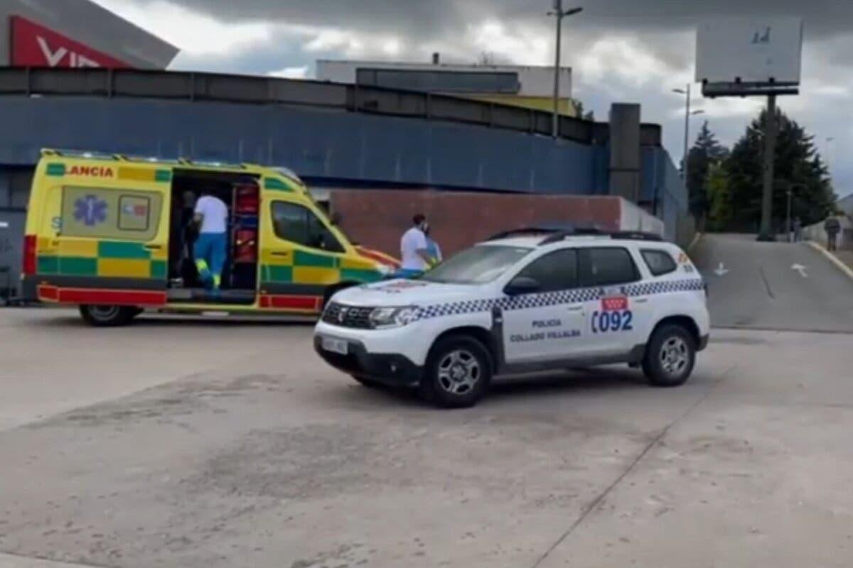 Herido grave un joven al ser atropellado cuando cruzaba en patinete un paso de peatones en Collado Villalba