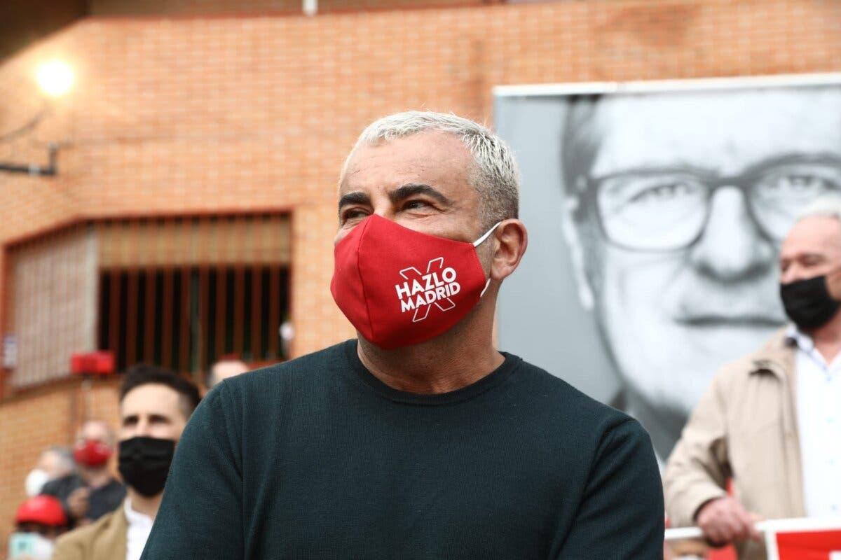El PSOE recurre a Jorge Javier Vázquez para impulsar la campaña de Gabilondo en Madrid