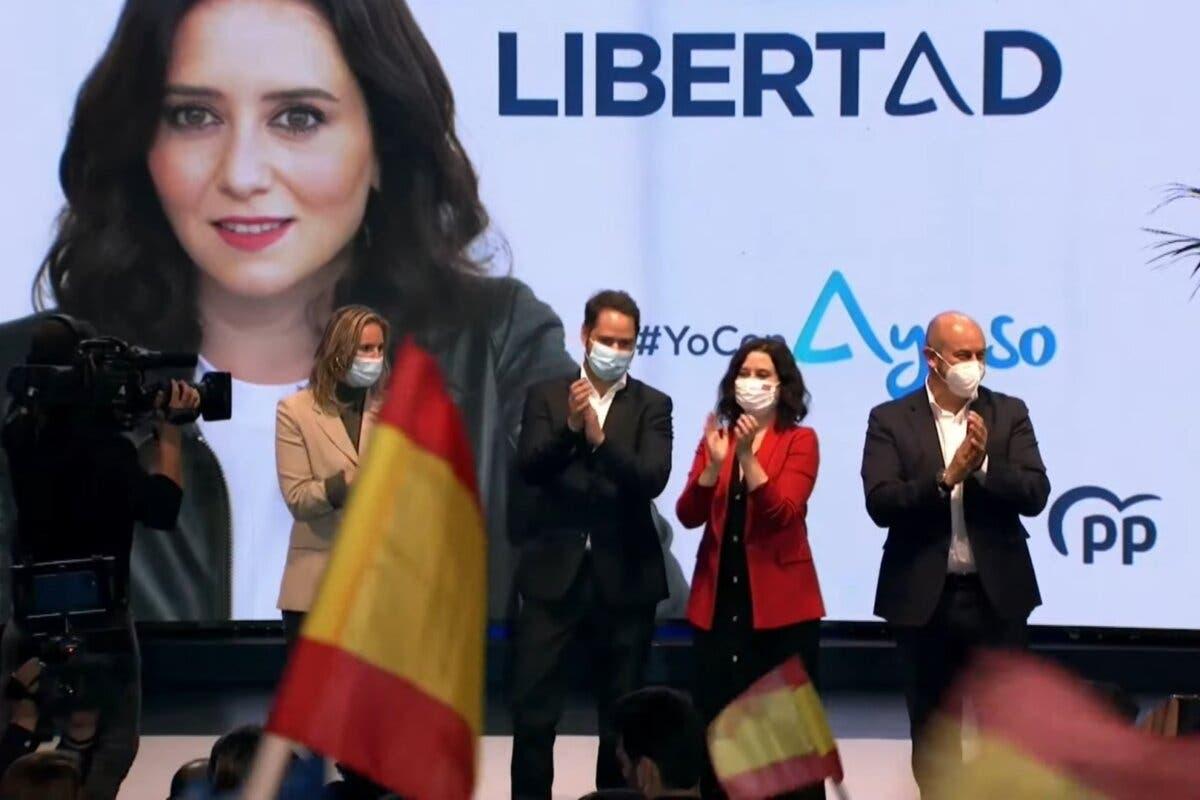 Ayuso en Torrejón de Ardoz: «Todos recibimos amenazas pero algunos no montamos circos»