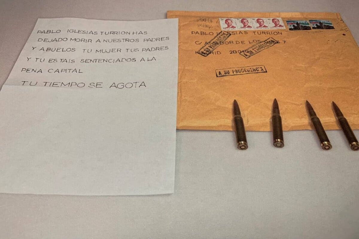 Correos responsabiliza al vigilante de una subcontrata de no haber detectado las cartas con balas