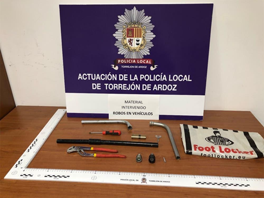 Un ladrón a la Policía de Torrejón de Ardoz: «Mi oficio es robar»