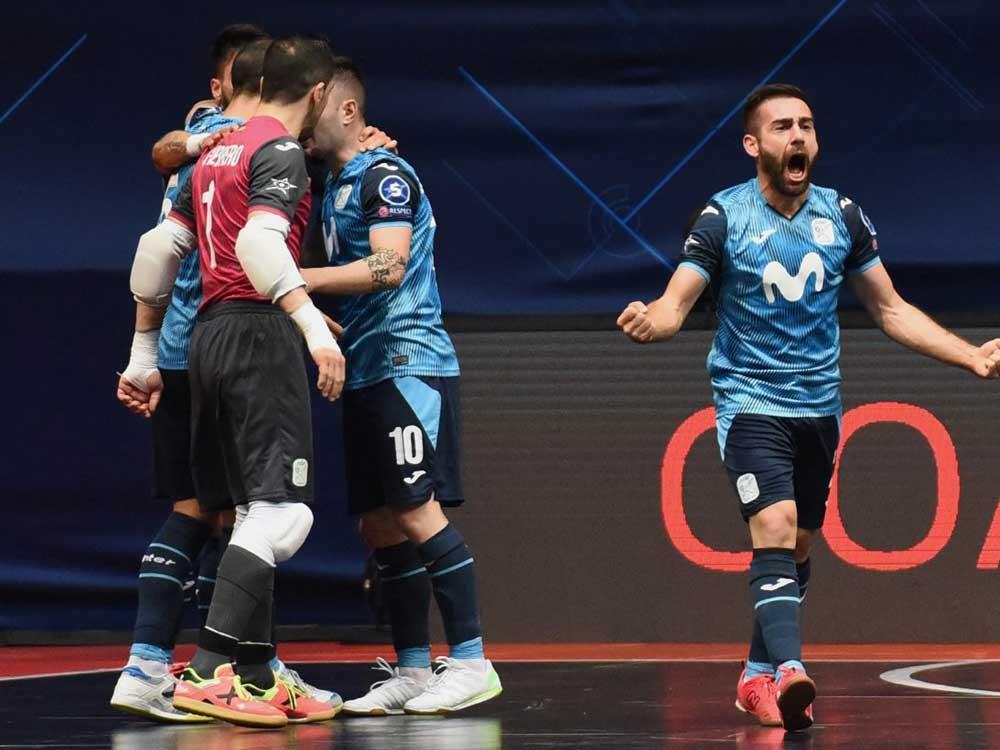El Movistar Inter de Torrejón disputa este sábado la semifinal de la Copa de Europa de fútbol sala