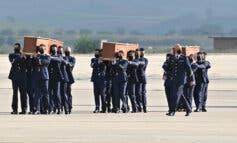 Llegan a Torrejón de Ardoz los cuerpos de los periodistas asesinados en Burkina Faso