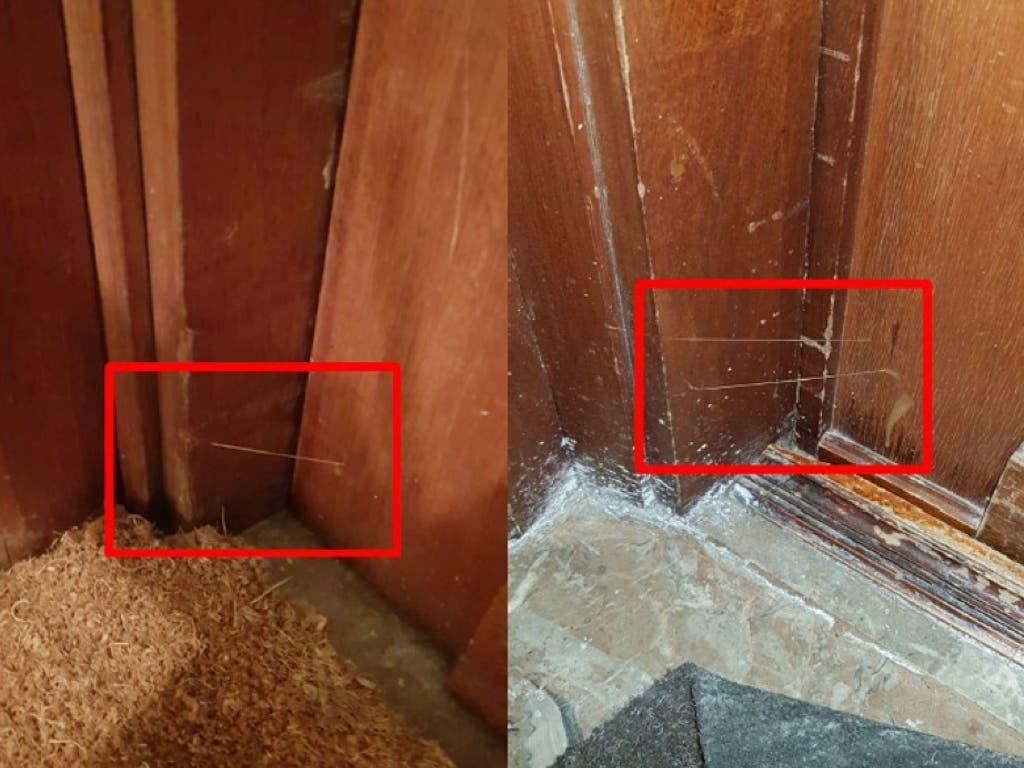 La Policía alerta: si encuentras hilos de pegamento en tu puerta llama al 091