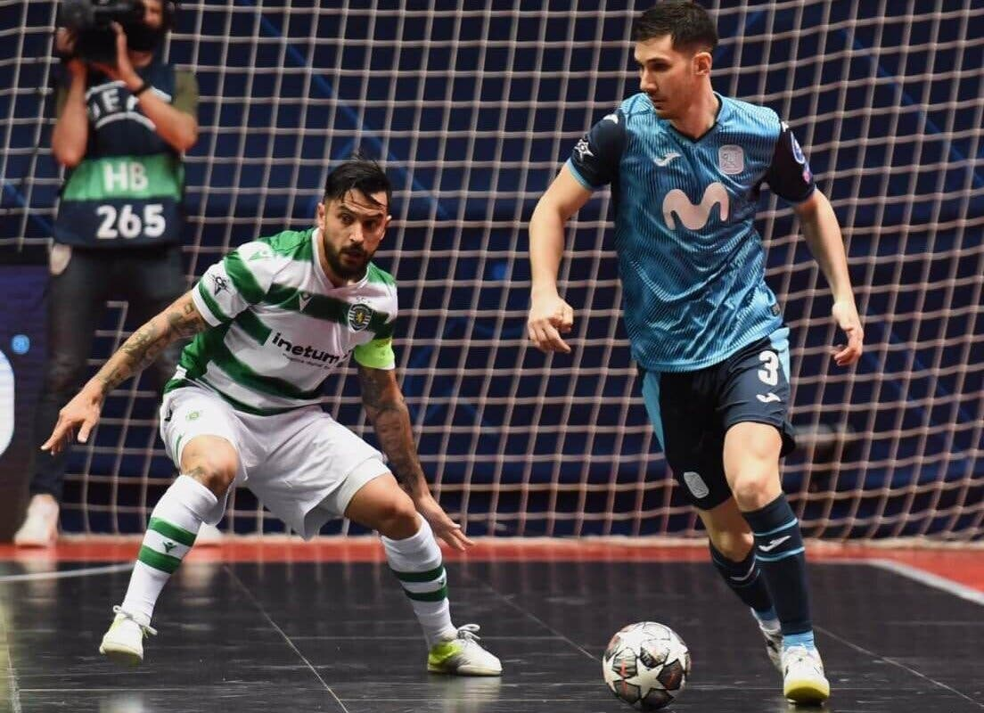 El Movistar Inter de Torrejón cae ante el Sporting de Portugal y se queda a un paso de la final europea