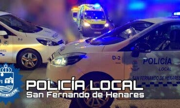 La Policía de San Fernando de Henares evita el suicidio de una persona