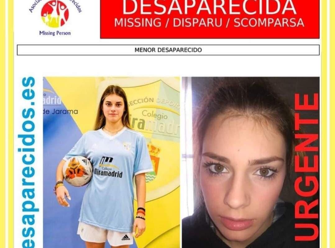 Buscan a una menor desaparecida en Paracuellos de Jarama hace 22 días
