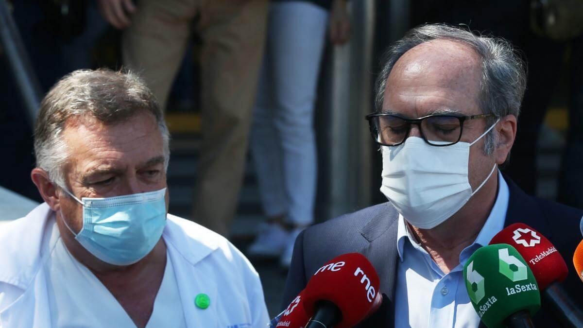 Ángel Gabilondo recibe el alta: «Me encuentro muy bien y mejor que cuando vine»
