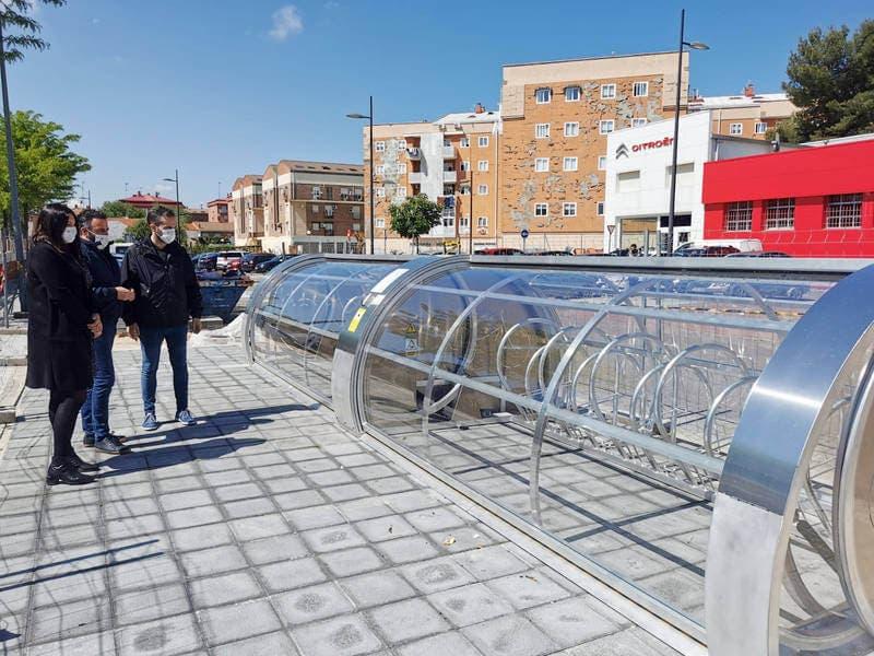 Azuqueca contará con el primer aparcabicis inteligente gratuito de Castilla-La Mancha