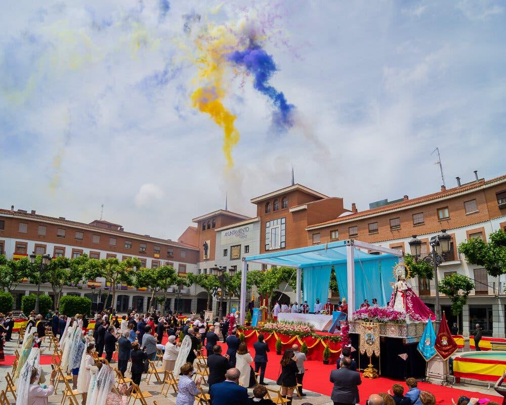 Así celebró Torrejón de Ardoz los 300 años de la hermandad de su patrona