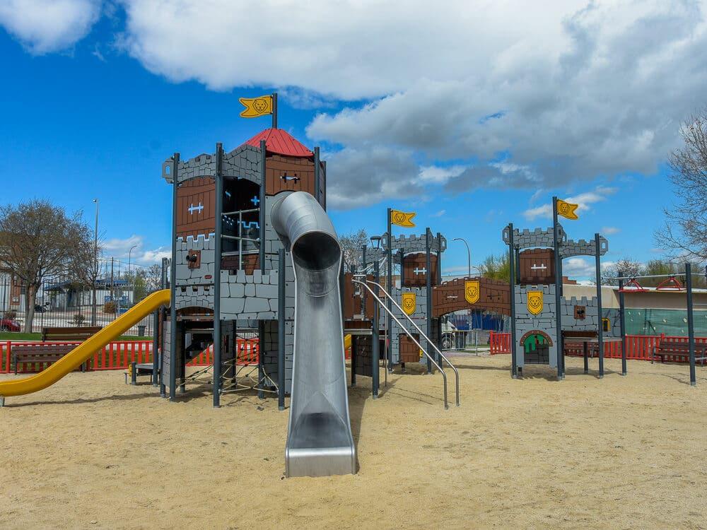 Torrejón de Ardoz remodela la zona infantil El Futuro del Parque Europa