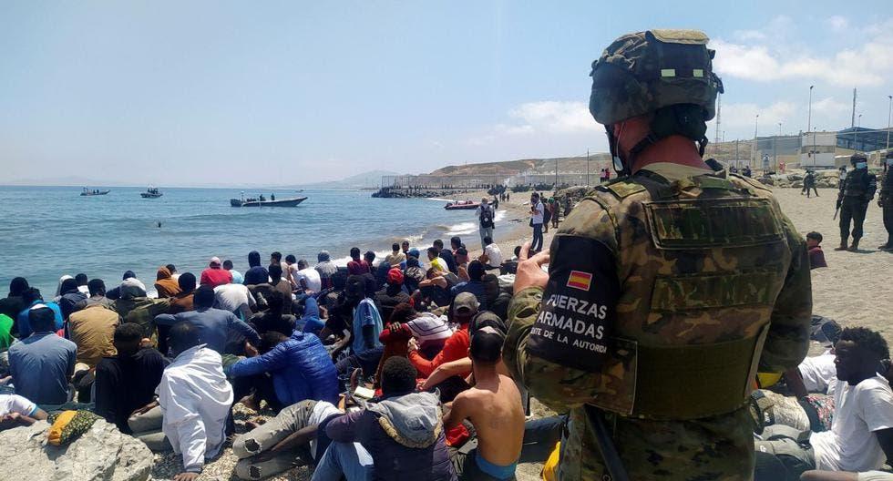 España asegura haber devuelto a Marruecos al 70% de los inmigrantes llegados a Ceuta