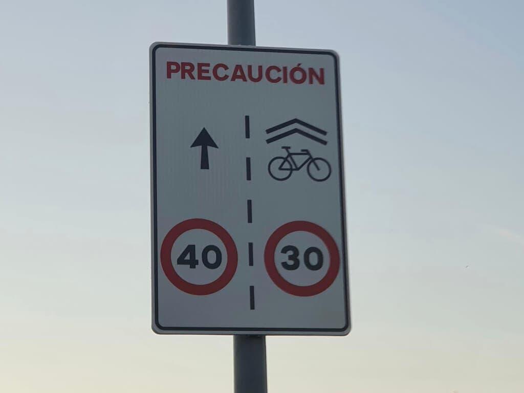 Alcalá de Henares recuerda los nuevos límites de velocidad en vías urbanas que entran en vigor el martes