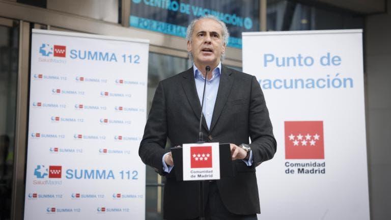 La Comunidad de Madrid estrena un nuevo sistema de autocitación para vacunarse