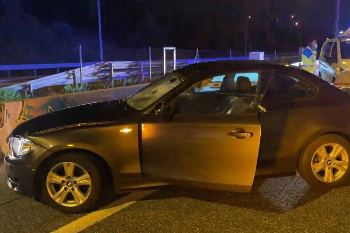 Muere un joven atropellado por un coche en la A-6, a la altura de Las Rozas