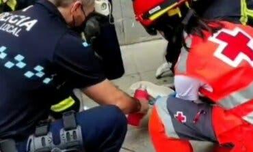 Reaniman a dos gatos tras un incendio en San Fernando de Henares