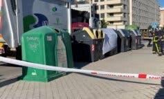 Muere un operario de limpieza de Rivas aplastado por el mecanismo del camión