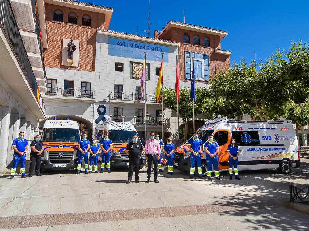 Torrejón de Ardoz cuenta con una nueva ambulancia municipal operativa las 24 horas