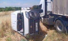 Muere un conductor en una colisión múltiple enSan Fernando de Henares