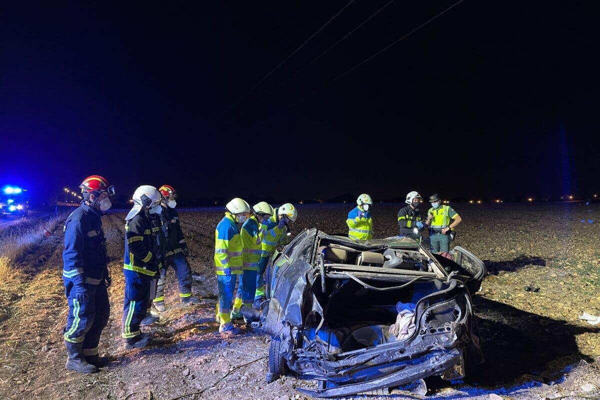 Dos muertos en un accidente en Camarma de Esteruelas