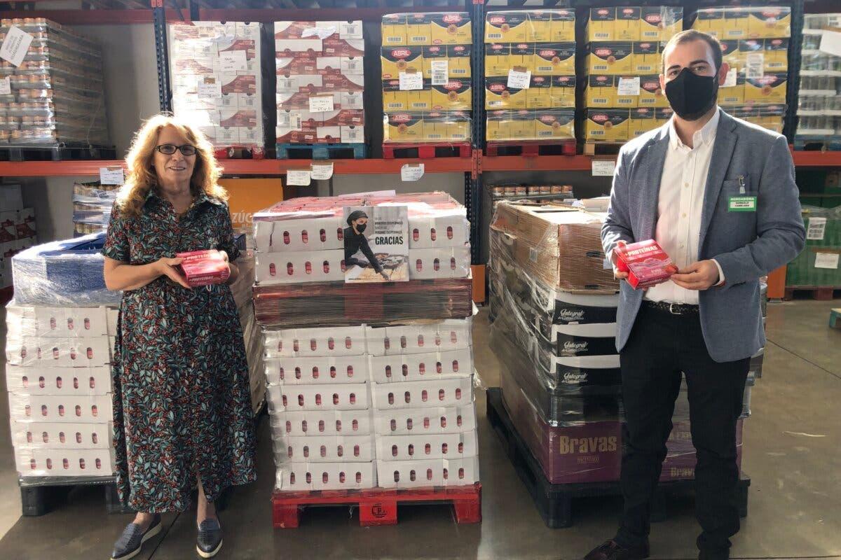 Mercadona dona más de 5.000 yogures al Banco de Alimentos de Guadalajara