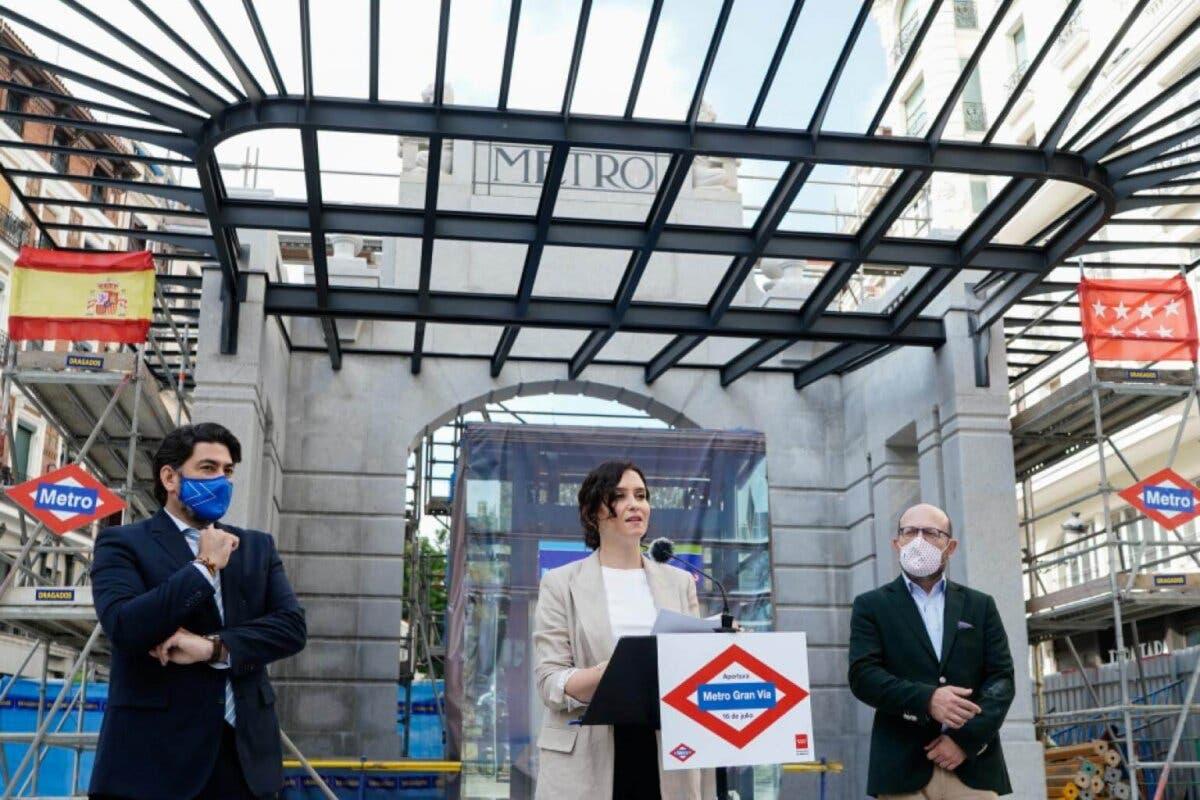 La estación de Metro de Gran Vía abrirá el 16 de julio