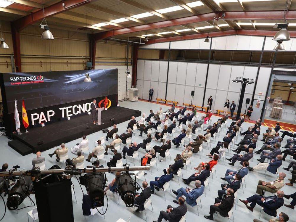Pap Tecnos estrena sede en Torrejón que será centro de mantenimiento de la OTAN