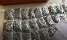 Requisan 60 kilos de marihuana en una fiesta en Camarma de Esteruelas