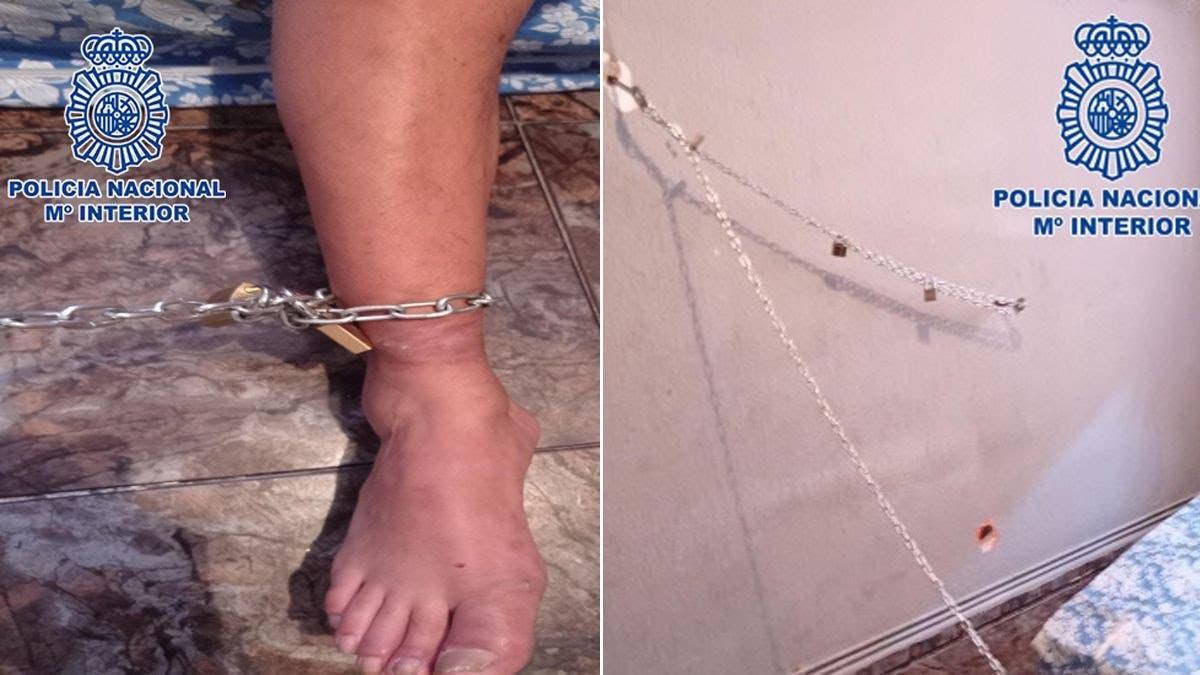 Detenidos en Torrejón de Ardoz por tener encadenado a su padre a la pared durante ocho días