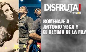 Antonio Vega y El Último de la fila cierran las Noches de Musicales en Torrejón